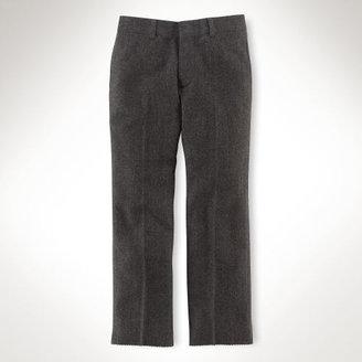 Ralph Lauren Flat-Front Wool Woodsman Pant