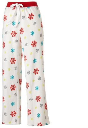 Sonoma life + style ® color me merry plush pajama pants