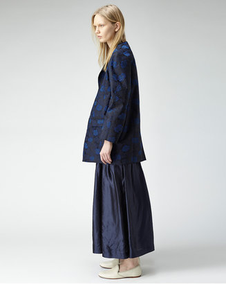 Toga Archives / floral jacquard coat