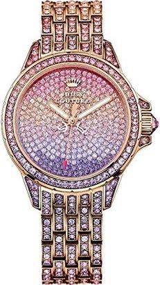 Juicy Couture Women's 1901167 Stella Analog Display Quartz Multi-Color Watch $495 thestylecure.com