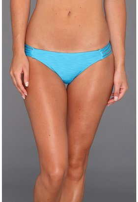 Hurley Royal Spider Brief Bikini Bottom (Blue) - Apparel