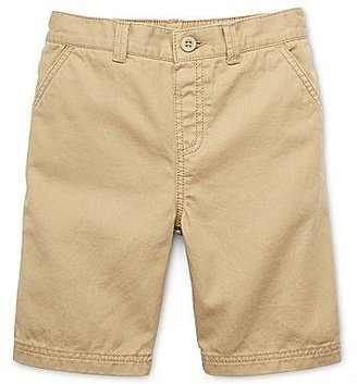 JCPenney Okie Dokie® Solid Twill Shorts - Boys 12m-6y