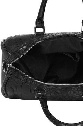 Topshop Croc Panel Bowling Bag