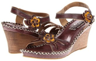 Spring Step Lilith (Brown Leather) - Footwear