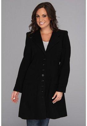 Scully Alexandra Vintage Wool Frock Coat (Black) - Apparel
