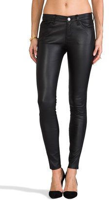 Current/Elliott The Ankle Leather Skinny