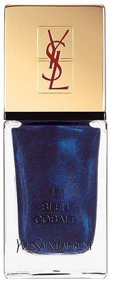 Yves Saint Laurent La Laque Couture in N 17 Bleu Cobalt