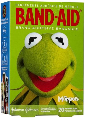 Safety First Band-Aid Disney Muppets - 20 oz - 20 ct