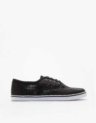 Mesh Top Sneaker In Black