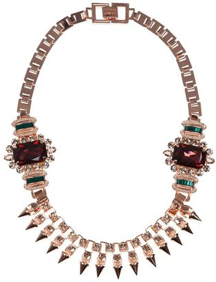 Mawi spiked necklace