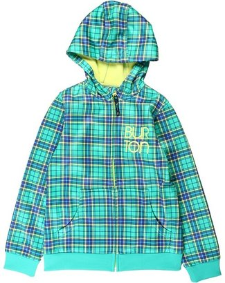 Burton Girls' Scoop Fleece (Little Kids/Big Kids) (Paradise Punkstar Plaid) - Apparel
