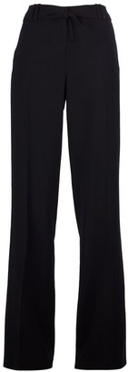 Ann Demeulemeester wide leg tailored trousers