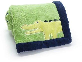 Carter's safari sky alligator fleece blanket