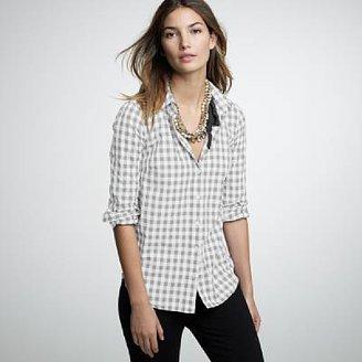 J.Crew Cotton check shirt
