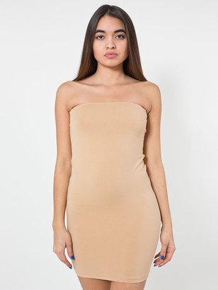 American Apparel Cotton Spandex Jersey Too-Short Tube Dress