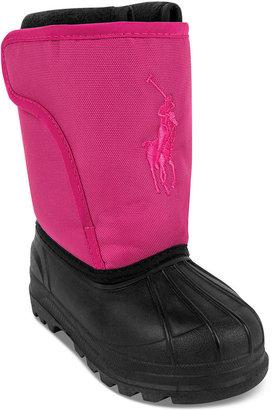 Ralph Lauren Shoes, Toddler Girls or Toddler Boys Albirta Big Pony EZ Boots