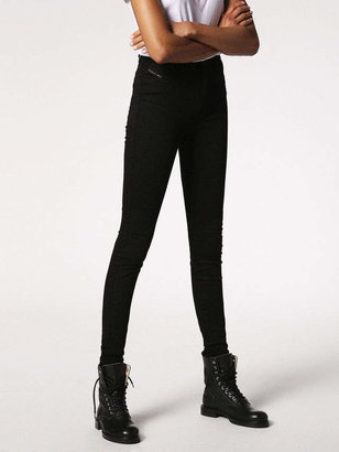 Diesel SKINZEE-HIGH Jeans 0813E - Black - 28