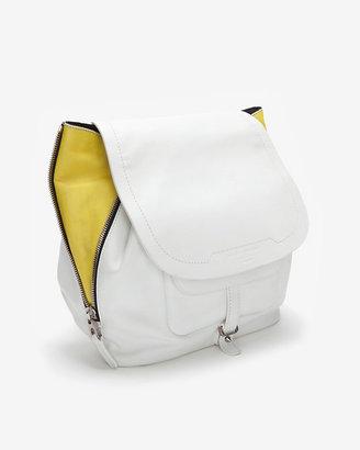 Barbara Bui Contrast Zipper Drawstring Shoulder Bag