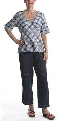 Two Star Dog Rochelle Crop Pants - Linen (For Women)