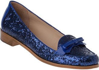 Kate Spade Cora Loafer Black Glitter