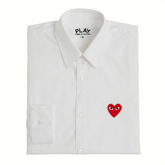 J.Crew PLAY Comme des Garçons® red heart button-down shirt