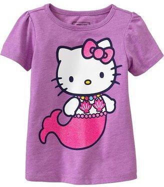 Hello Kitty Mermaid Tees for Baby