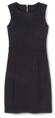 Xhilaration Sheath Dress Black