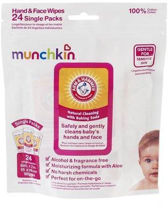 Munchkin Arm & hammer 24-pk. nursery wipes