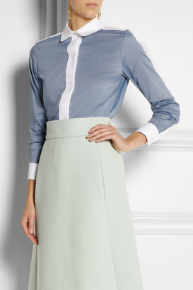 Chloé Cotton-chambray shirt