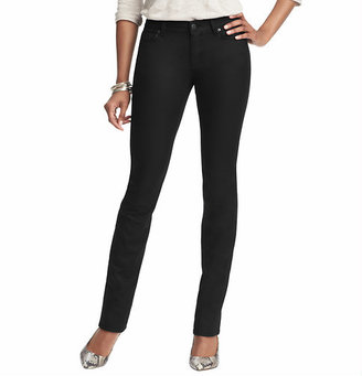 LOFT Tall Curvy Skinny Jeans in Coated Black