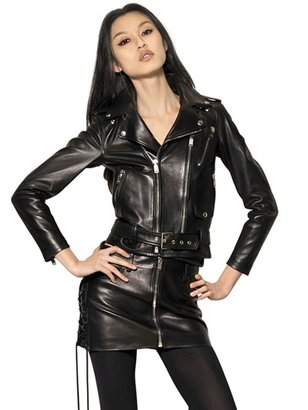 Saint Laurent Perfecto Plonge Nappa Leather Jacket