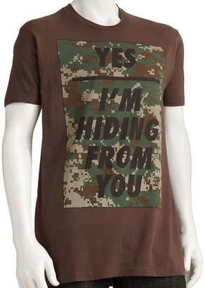 "Humör Urban pipeline ® ""yes i'm hiding from you"" tee - men"