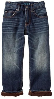Gap 1969 Cord-Lined Slouch Jeans