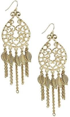 Forever 21 Filigree Chain Earrings