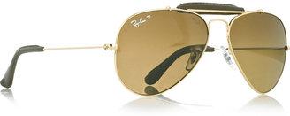 Ray-Ban Metal-frame aviator sunglasses