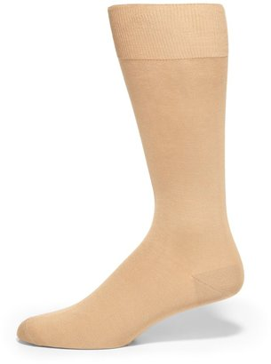 Saks Fifth Avenue Made In Italy Classic Cotton Dress Socks