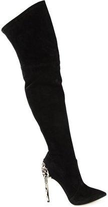 Casadei 'Venice' thigh length boots