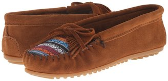 Minnetonka - Kilty Suede Moc Women's Moccasin Shoes $44.95 thestylecure.com
