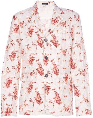Ann Demeulemeester floral lightweight blazer