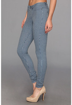 Hue Pinstripe Jeanz Legging