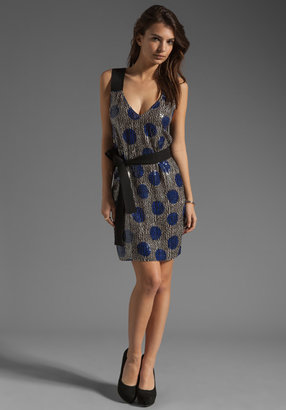 Sonia Rykiel SONIA by Dots Cross Back Dress