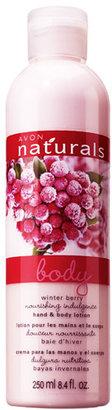 Avon Naturals Winter Berry Hand & Body Lotion