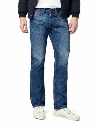 Replay Men's Newbill Straight Jeans (Blue Denim 009) W34/L34 (size: 34)
