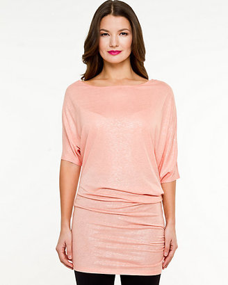 Le Château Linen Blend Off-the-Shoulder Tunic