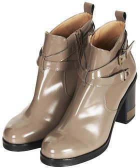 Topshop ALL MINE Metal Trim Boots