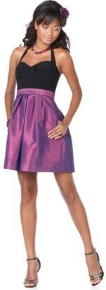 Blondie Nites Dress, Halter with Full Skirt
