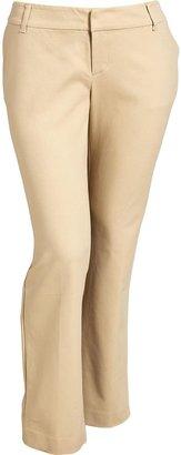 Old Navy Women's Plus Stretch-Twill Dress Pants
