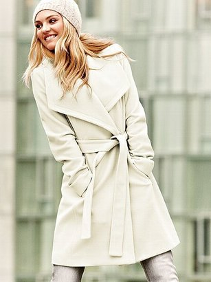 Michael Kors Michael by Belted Wrap Coat