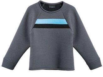 Cynthia Rowley Bonded Pique Sweatshirt