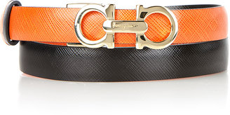 Salvatore Ferragamo Adjustable and Reversible Belt
